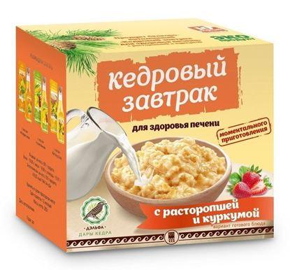 Кедровый завтрак для здоровья печени