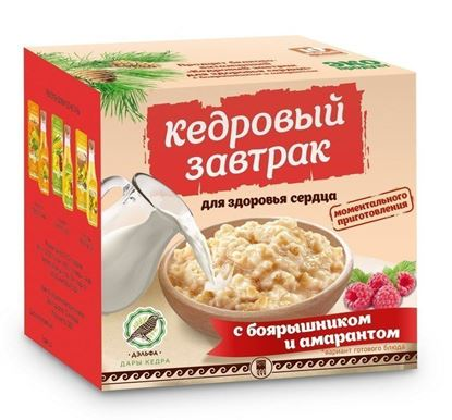 Кедровый завтрак для здоровья сердца