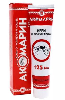 """Крем от комаров и мошек """"Акомарин"""""""