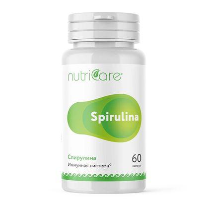 Спирулина (Spirulina TSN), капсулы, 60 шт